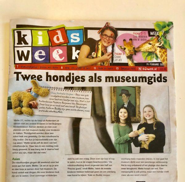In de Kidsweek! Ape- eh.. hondetrots zijn we!
