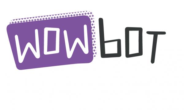 Et voilá: de Wowbot heeft ook een eigen logo. Met dank aan www.vuurrood.nl.